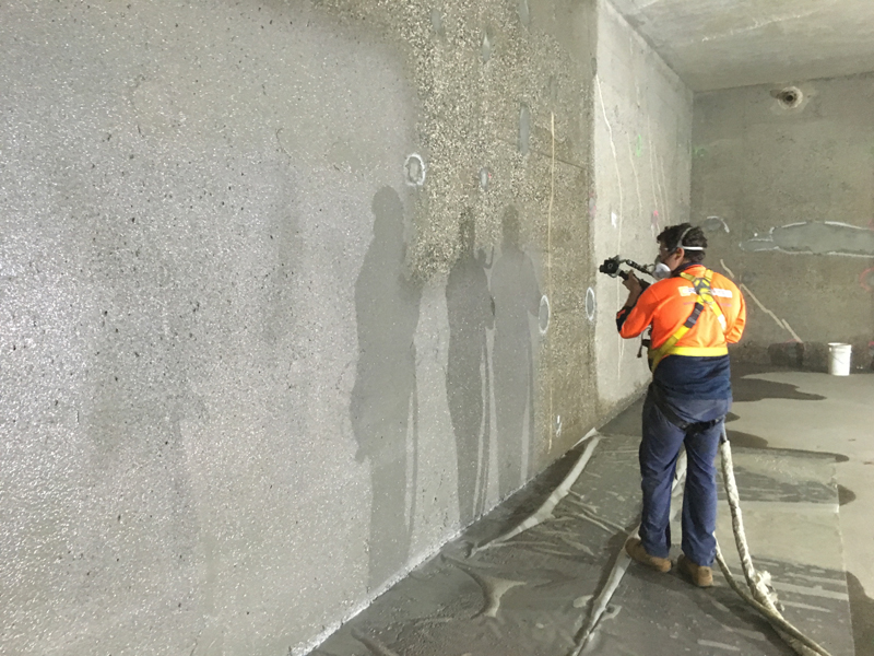 MCG UNDERGROUND WATER TANK | Concrete Protection Repair Services